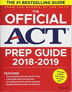 Amazon the official act prep guide 2018 official practice the official act prep guide 2018 19 edition book bonus online content fandeluxe Image collections