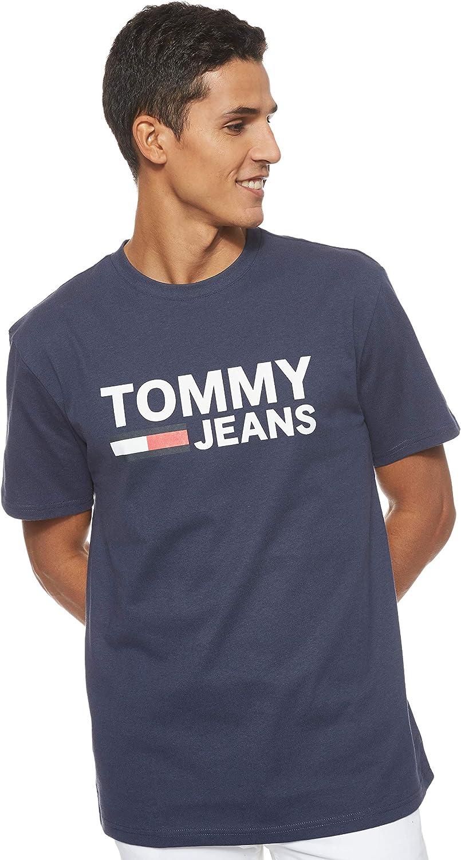 Tommy Hilfiger TJM Tommy Classics Logo tee Camisa para Hombre