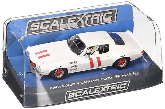 Scalextric C3922 1970 Chevrolet Camaro Slot Coche, Multi ...