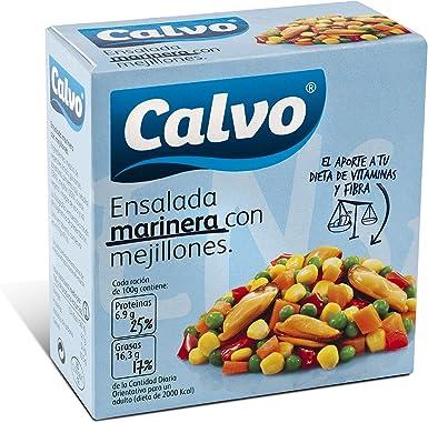 Ensalada marinera con mejillones calvo 150g: Amazon.es ...