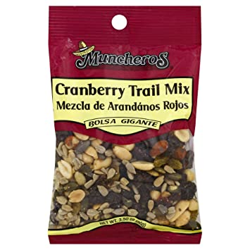 Muncheros Muncheros Cranberry Trail Mix, 3.5-oz, 12-Pack, 3.5 ...
