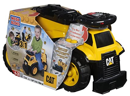 Benefits Of Ride On Toys : Amazon megabloks cat in ride on truck toys games