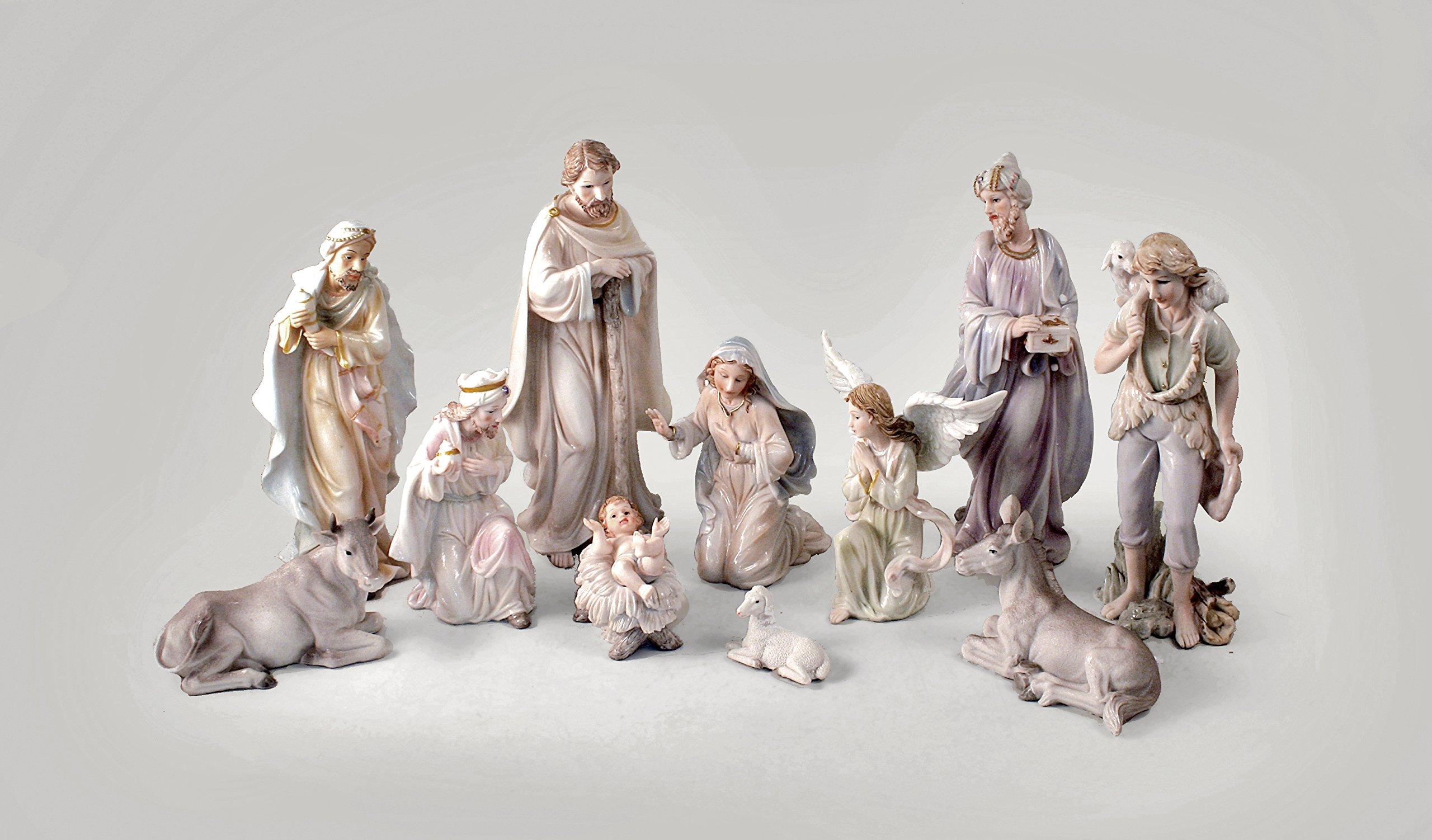 Nativity Set Porcelain (11pcs) 12'' Ns10-12p