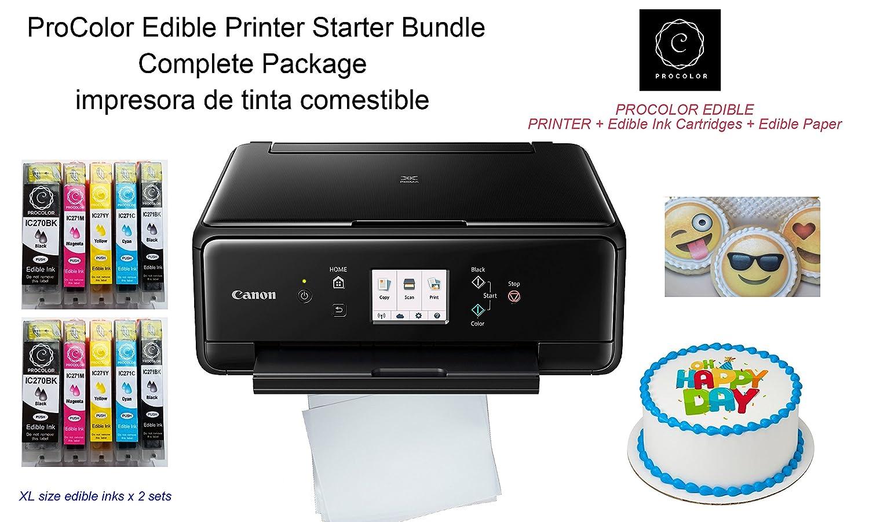 Amazon.com: ProColor Edible Printer- Starter Bundle with ...