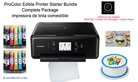 Amazon.com: ProColor Comestible Printer- Kit de iniciación ...