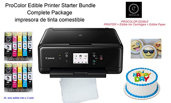 Amazon.com: ProColor Edible Printer- Starter Bundle with ...