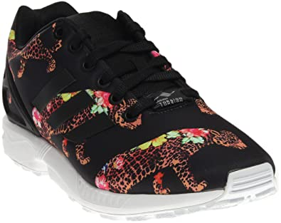 c63c05ae6914 adidas Womens ZX Flux Athletic   Sneakers Black