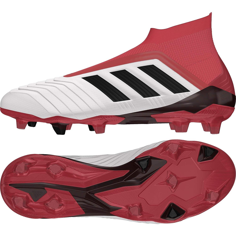 adidas Herren Predator 18+ Firm Ground Fußballschuhe, Weiß