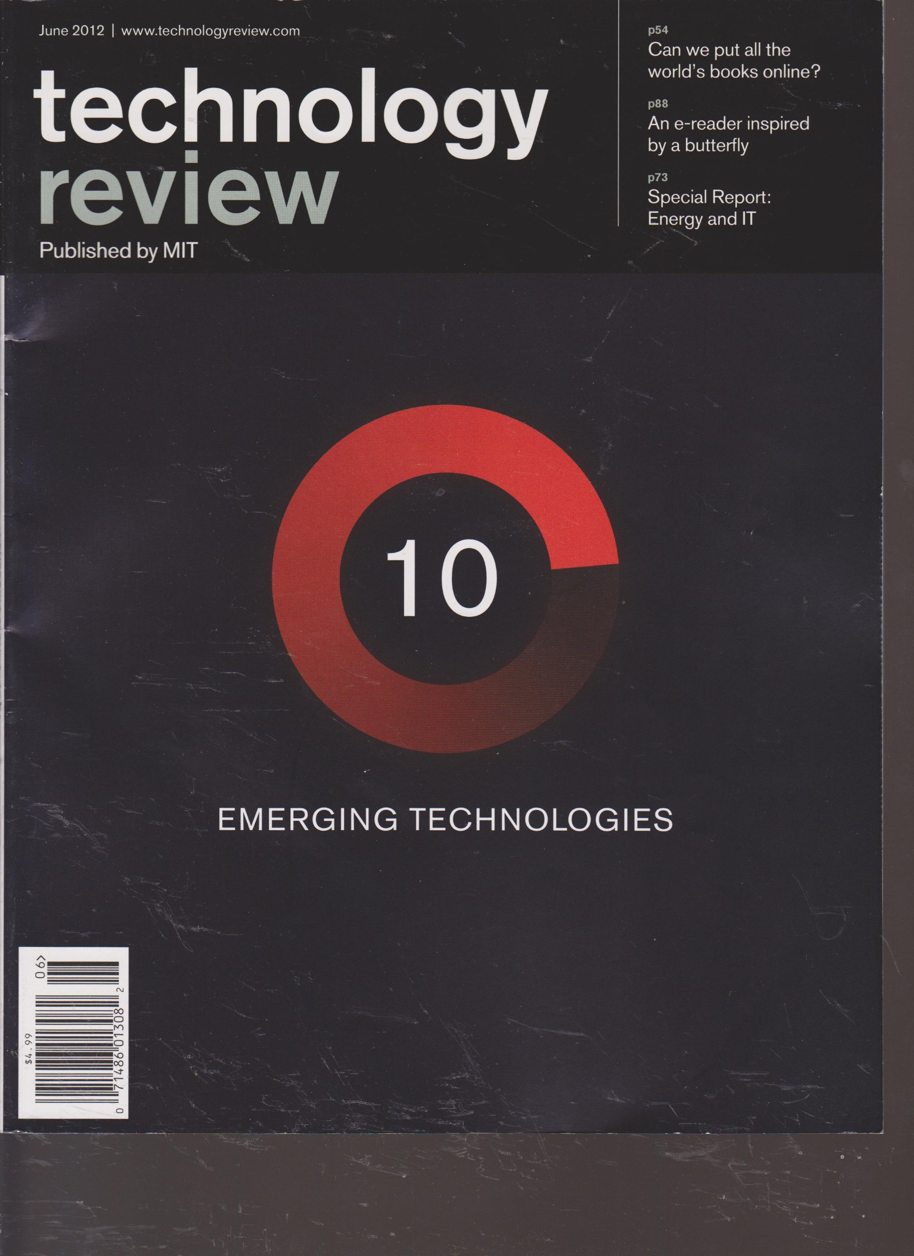 Download Technology Review Magazine (June 2012) pdf epub