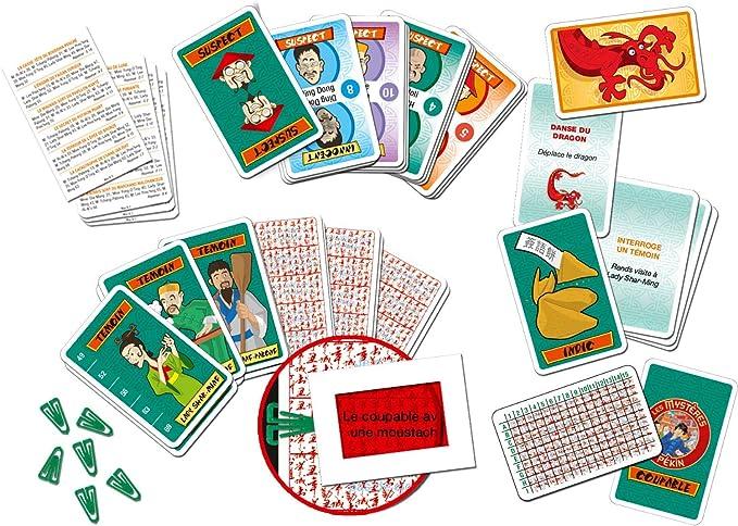 Lansay-Les misterires de Pekín Juego de Cartas, 75120: Amazon.es: Juguetes y juegos