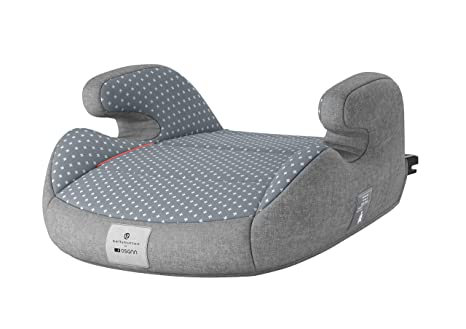 Bellybutton 104-146-401 Junior Isofix Bellybuton - Cojín hinchable (grupo 2/3, 15-36 kg), color gris