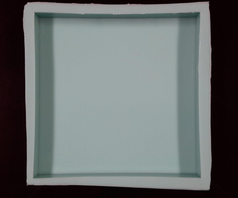 7 x 7 x 1 azulejos baldosas de resina de silicona molde, moho ...