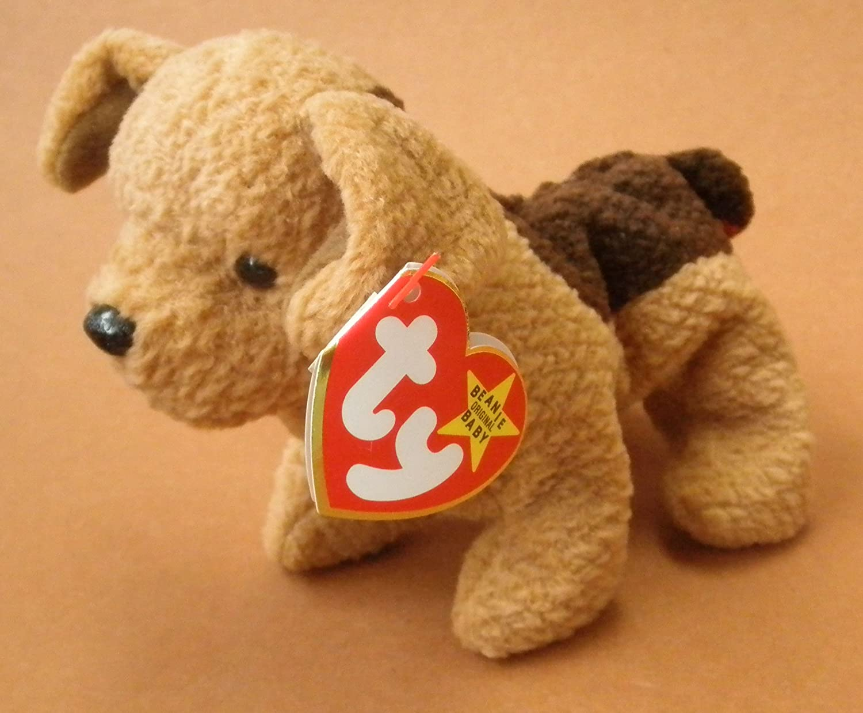 672c829a6f9 Amazon.com  TY Beanie Babies Tuffy the Terrier Dog Plush Toy Stuffed  Animal  Toys   Games