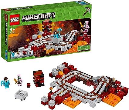 Pick Axe 21130 Mini Fig LEGO Minecraft Steve Minifigure Armor