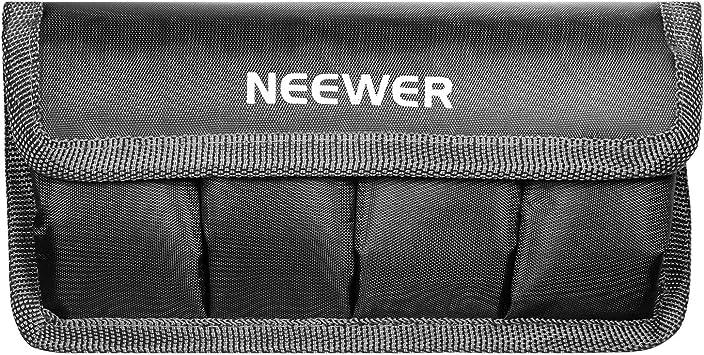 Black DSLR Battery Bag Holder Pouch for Battery of Nikon D800 D300S D7000