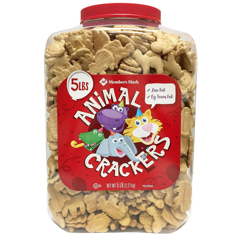Member Mark Animal Crackers, 5 Pound Silk Yard Inc