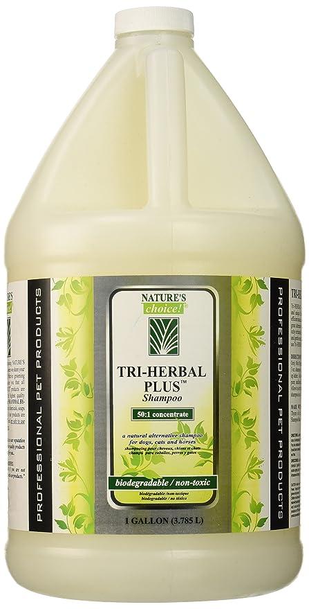 Elección de la Naturaleza Tri-Herbal Plus Champú, 50: 1 GAL ...