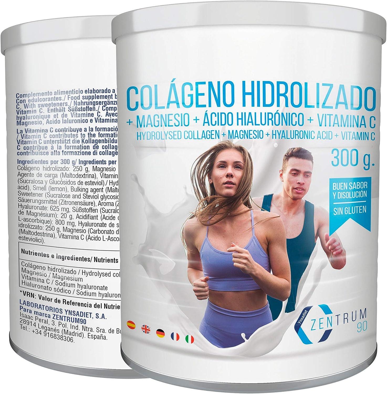 Colágeno Con Magnesio - Colágeno hidrolizado en polvo con magnesio ...