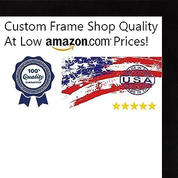Amazon.com - 14x16 Contemporary Black Wood Shadow Box Frame - UV ...