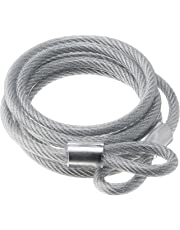 Abus 66 Steel Braided Cable 5/16-Inch Width 6-Feet Length