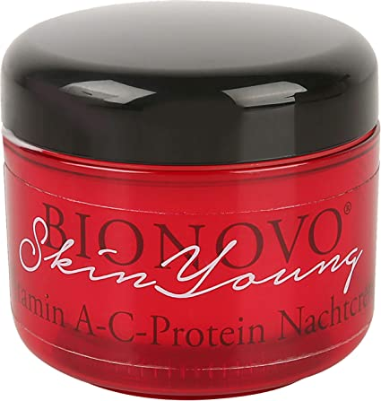 BIONOVO Skin Young - Crema de noche (proteína A-C, 60 ml ...