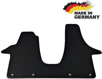 Car Styling Premium Fußmatte T5 2 3 Sitzer Fahrerhaus Velours Anthrazit Nubuk Umrandung Auto