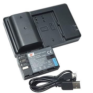 DSTE 2PCS DMW-BLF19E(2200mAh/7.2V) Batería Cargador Compatible para Panasonic DMW-BLF19,Panasonic DMC-GH3,DMC-GH4,DC-GH5