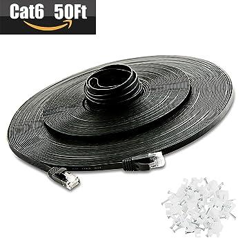 Amazon.com: 【Ventas de limpieza】 Cable Ethernet Cat 6 de ...