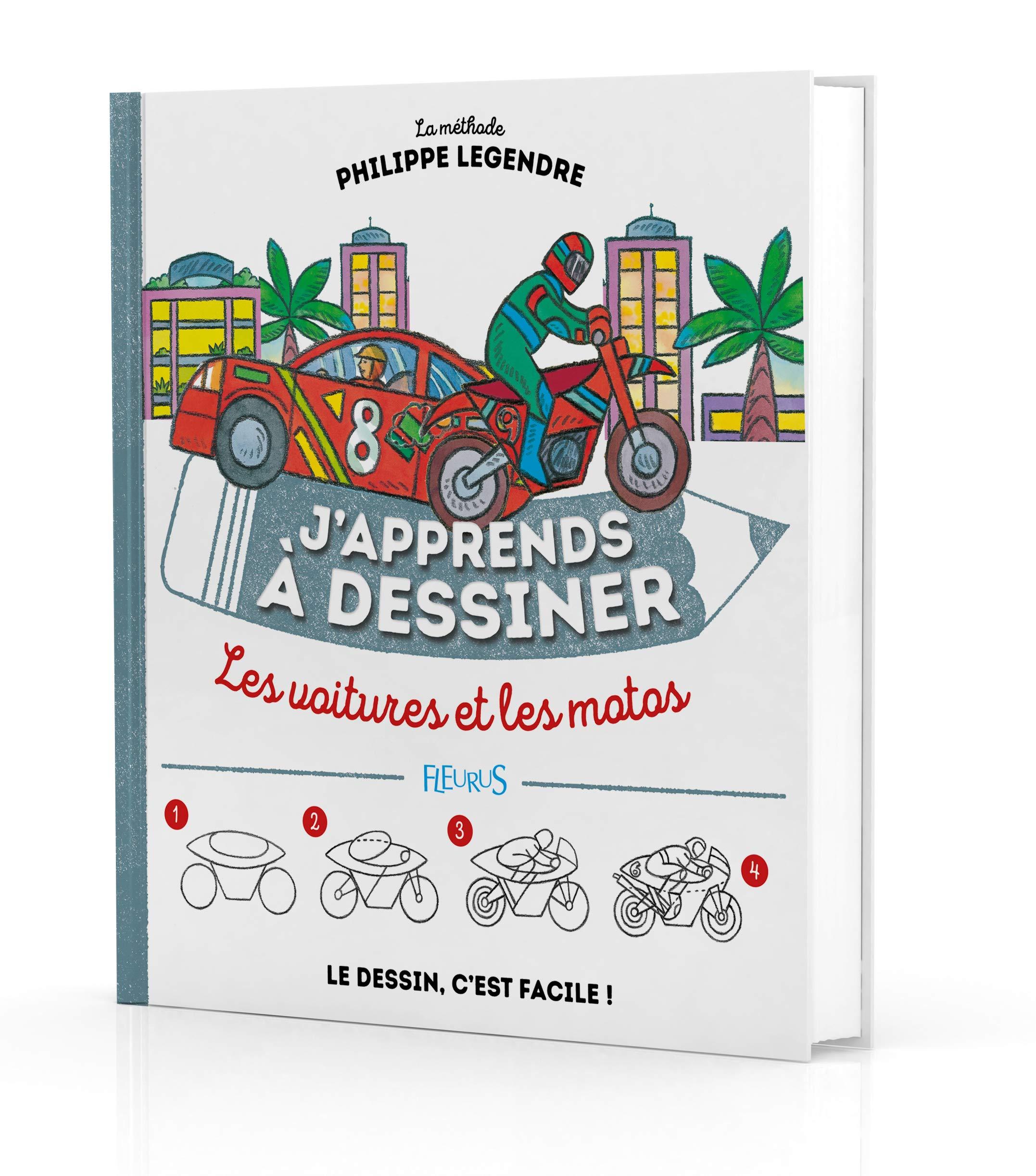Amazon Fr J Apprends A Dessiner Les Voitures Et Les Motos