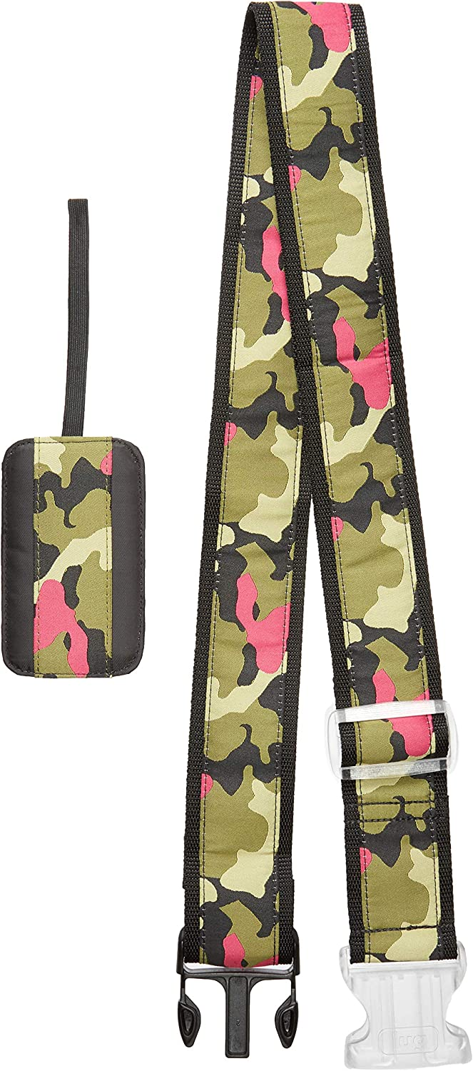Lug 6531 Women's Baggage Claim Set, Camo Orchid, One Size