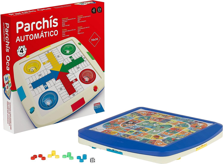 Falomir Parchís y Oca Automático, Juego de Mesa, Clásicos (27923): Amazon.es: Juguetes y juegos