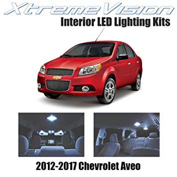 Xtremevision Chevrolet Aveo 2012 2017 2 Pieces Cool White Premium