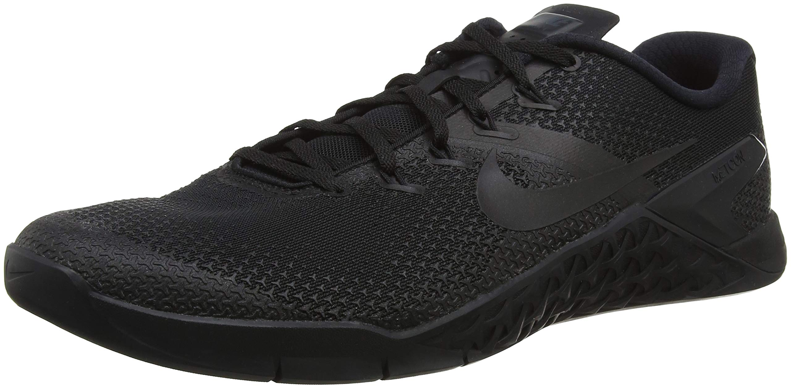 Nike Men's Metcon 4 Training Shoe Black/Black-Black-Hyper Crimson 7.0 by Nike (Image #1)