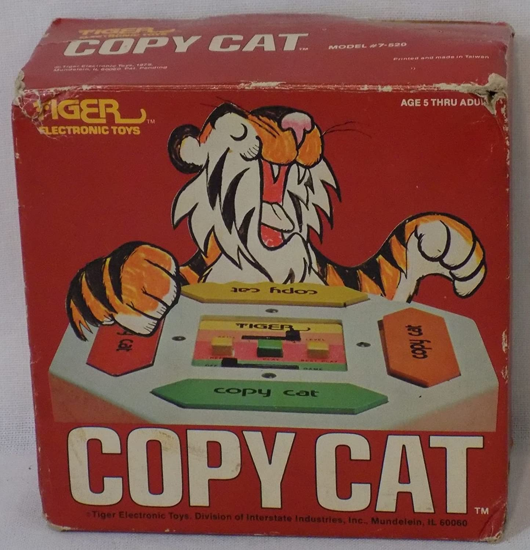 Vintage 1979 Tiger Electronics Copy Cat Game #7-520