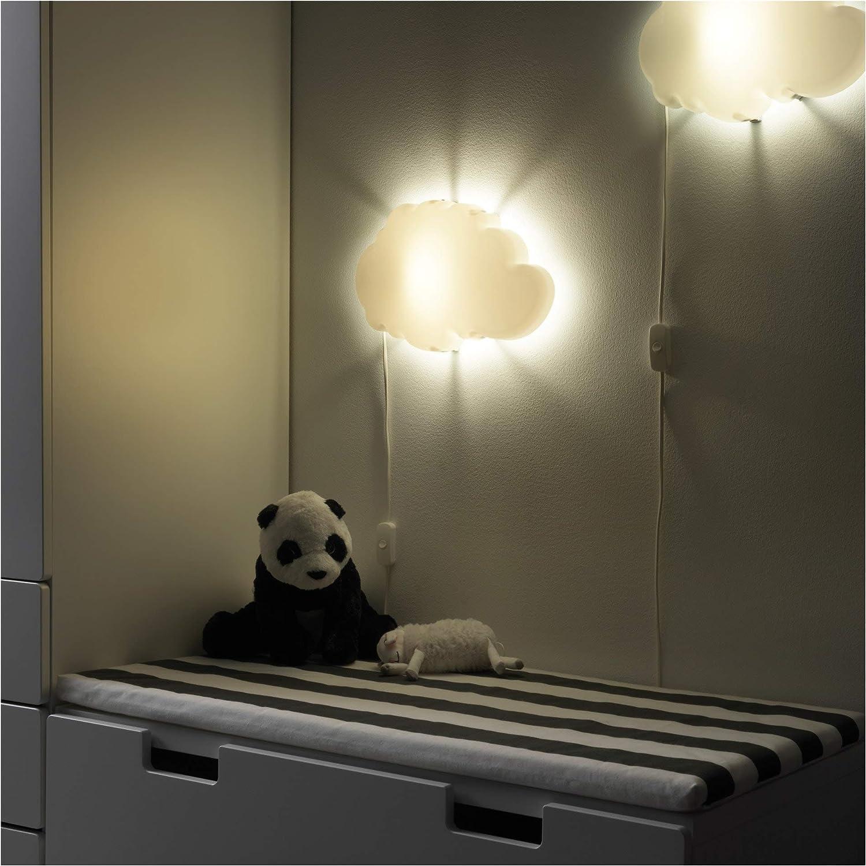 IKEA dr/ömsyn l/ámpara Dormitorio de ni/ño de pared Color blanco nube