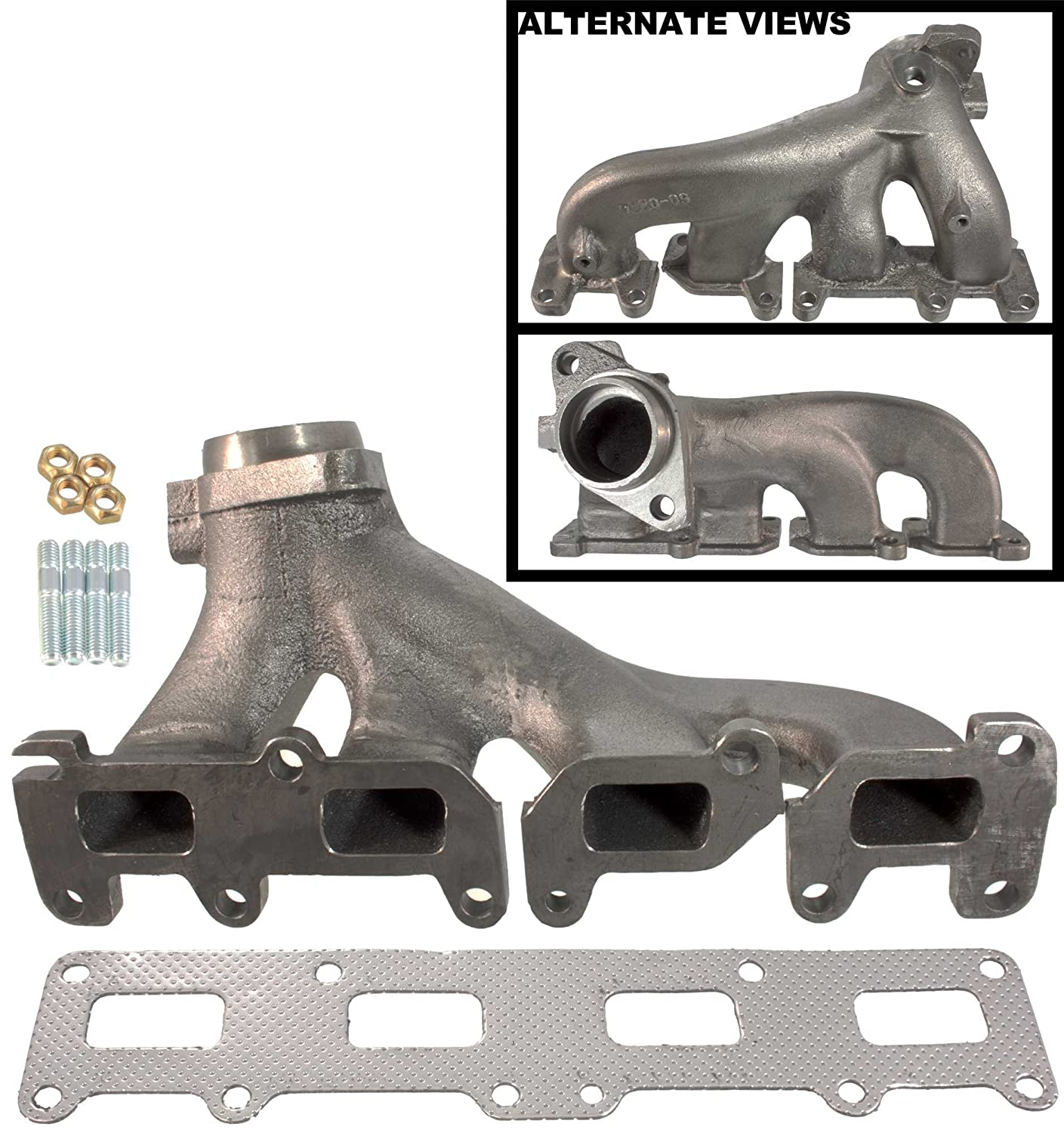 Apdty 785907 Exhaust Manifold With Gasket Fits 2002 2006 Jeep Liberty W 24l 4 Cylinder Engine 2003 Wrangler
