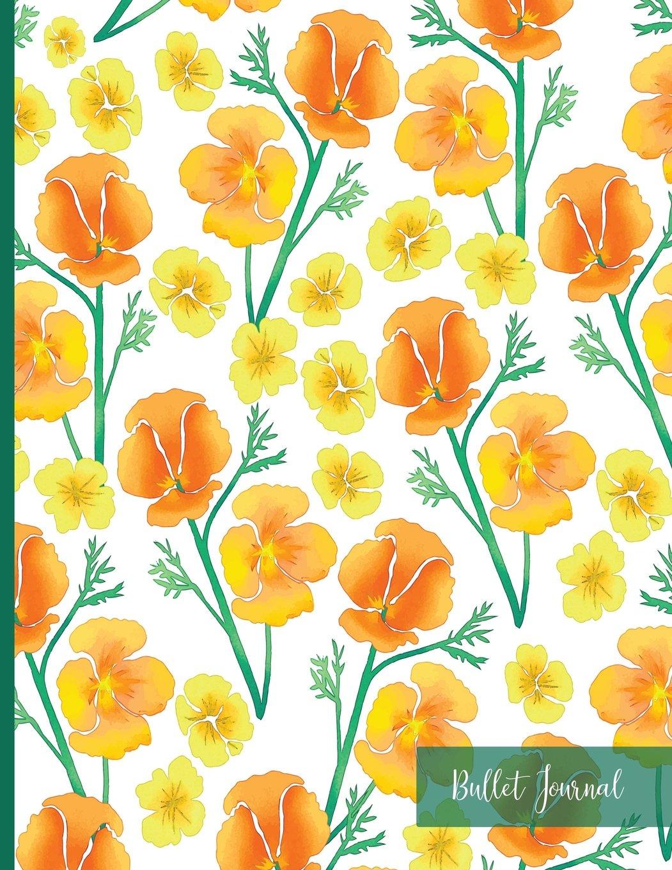 Bullet Journal: Floral Thick Cardstock Matte Cover, Bullet Journal Dot Grid, Notebook Dotted Grid, Minimalist Planner: Bullet Journal and Sketch Book ... Dot Grid Composition Notebook XL 8.5x11 ebook