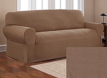 Amazon.com: OrlysDream - Juego de 2 fundas de sofá y fundas ...