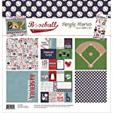 Simple Stories Baseball 12x12 Collection Kit