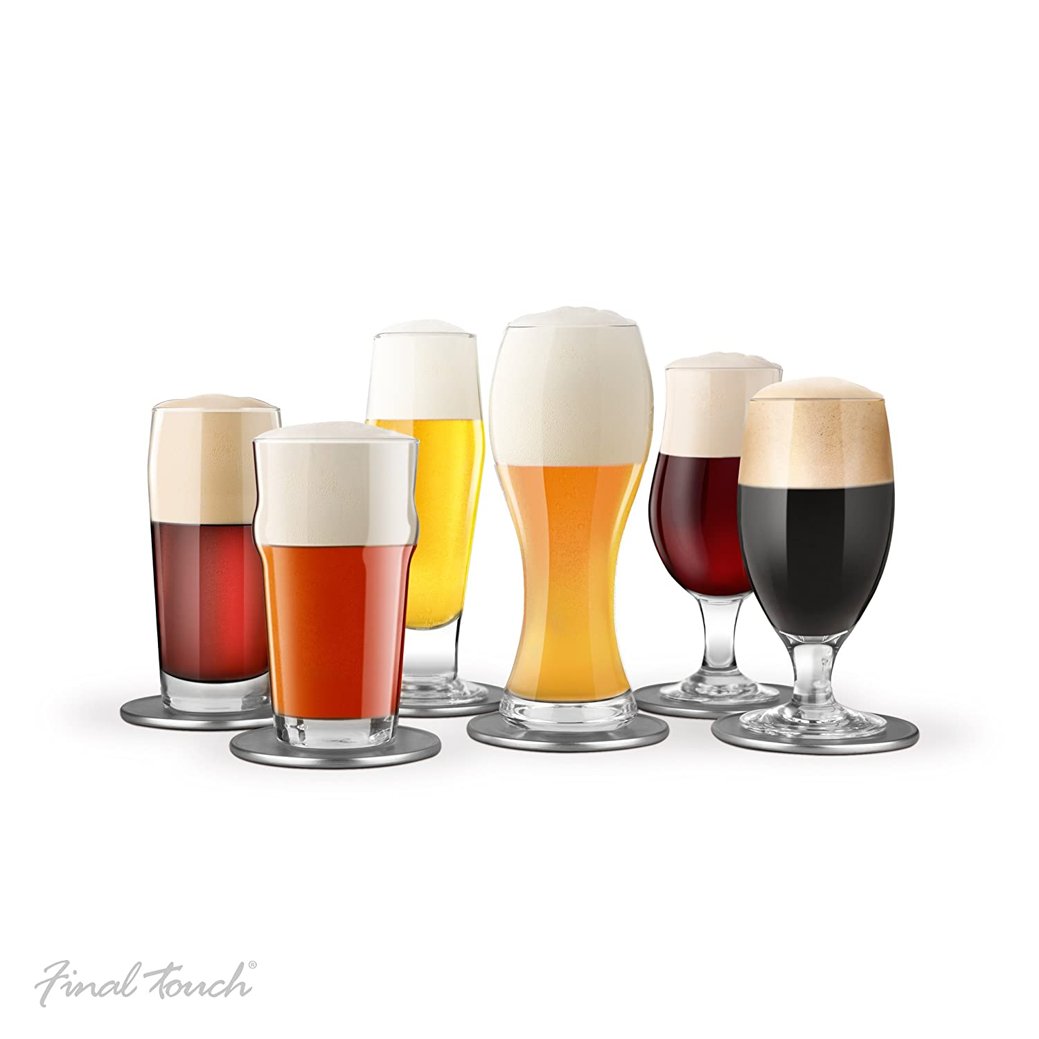 Final Touch 13-pc Beer Tasting Set Product Specialties Inc. GBT106