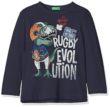 975d5318fb4 United Colors of Benetton T-Shirt L S - Camiseta Niños  Amazon.es  Ropa y  accesorios