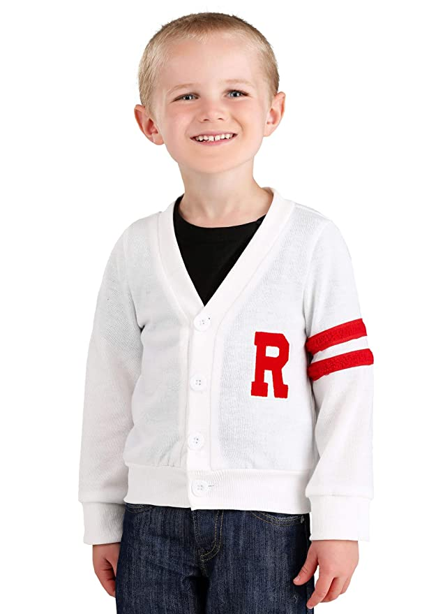 Kids 1950s Clothing & Costumes: Girls, Boys, Toddlers Fun Costumes Deluxe Grease Rydell High Toddler Letterman Sweater $19.99 AT vintagedancer.com