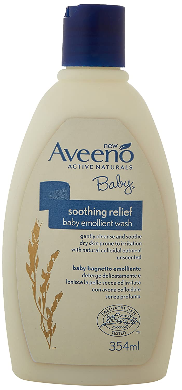 AVEENO Baby Soothing Relief Emollient Wash, 354 ml 108711891