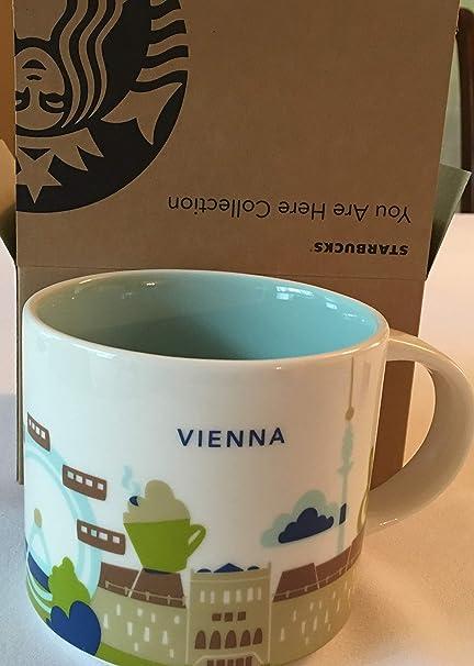 Starbucks City Mug You Are Here Collection Vienna Austria