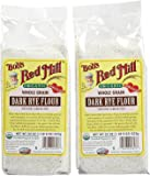 Bob's Red Mill Organic Rye Dark Flour - 22 oz - 2 pk