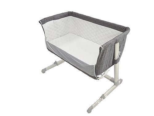 Chicco Next2me Side Sleeping Crib Dove Grey Amazon Co