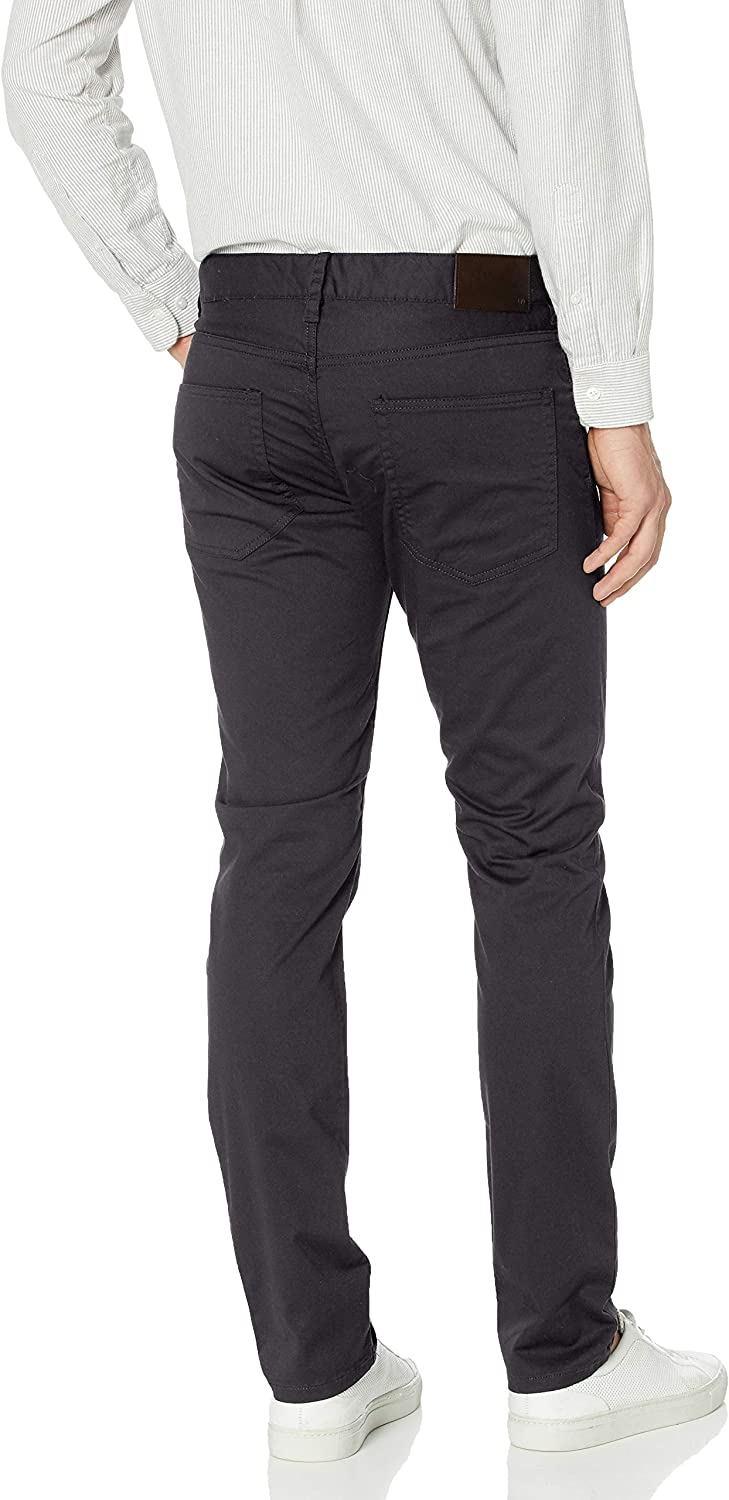 French Connection Men's Casual Pants Charcoal Reg