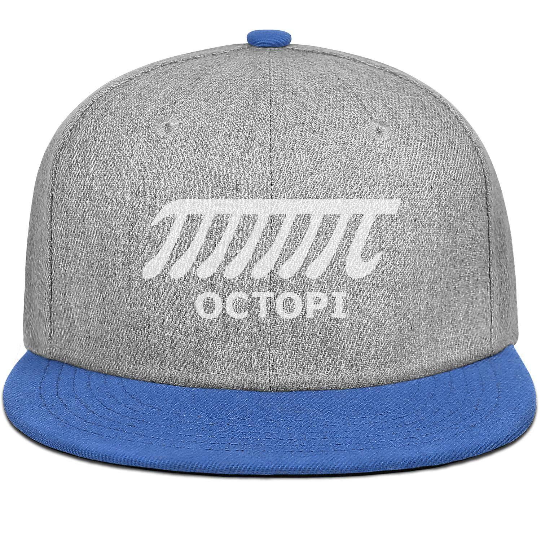 Sale23 Octopi Math PI Mens Womens Wool Cool Cap Adjustable Snapback Dad Hat