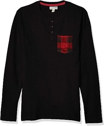 Hatley Long Sleeve Pajama tee Camiseta de Pijama para Hombre: Amazon.es: Ropa y accesorios