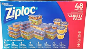 Ziploc Storage Set, 48 Count